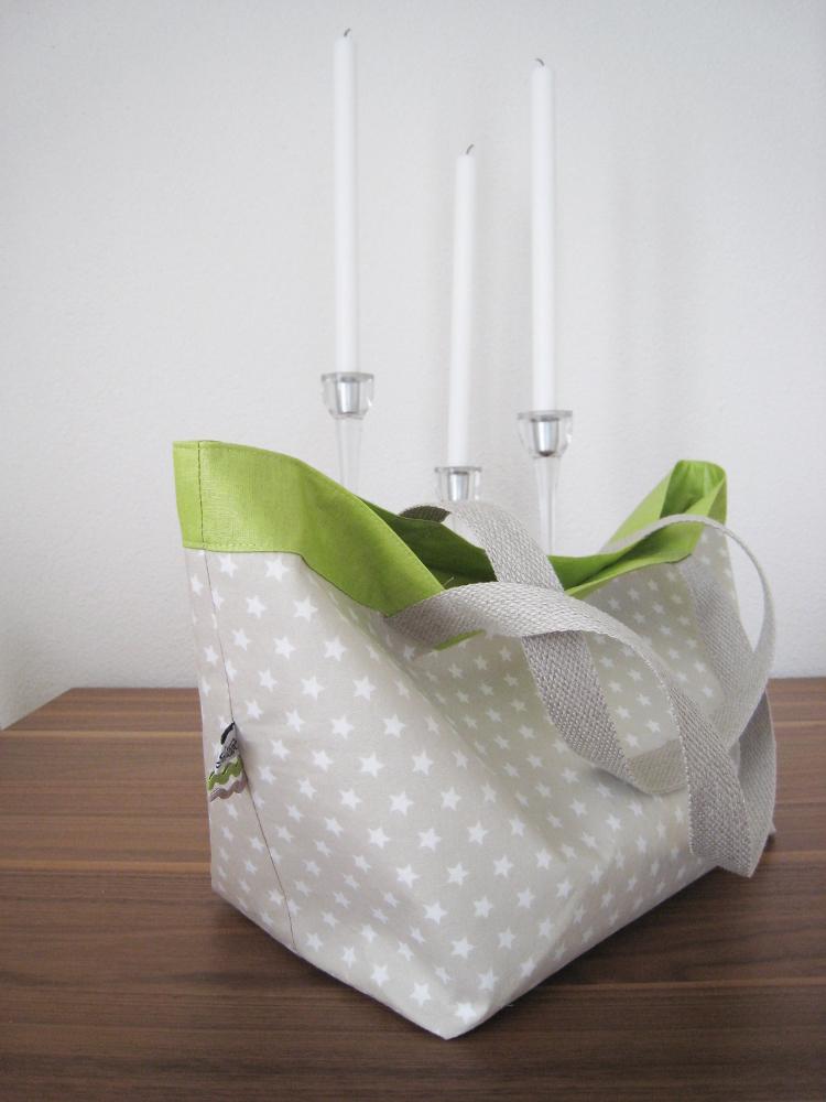 nähen • Lunchbag innen mit beschichteter Baumwolle
