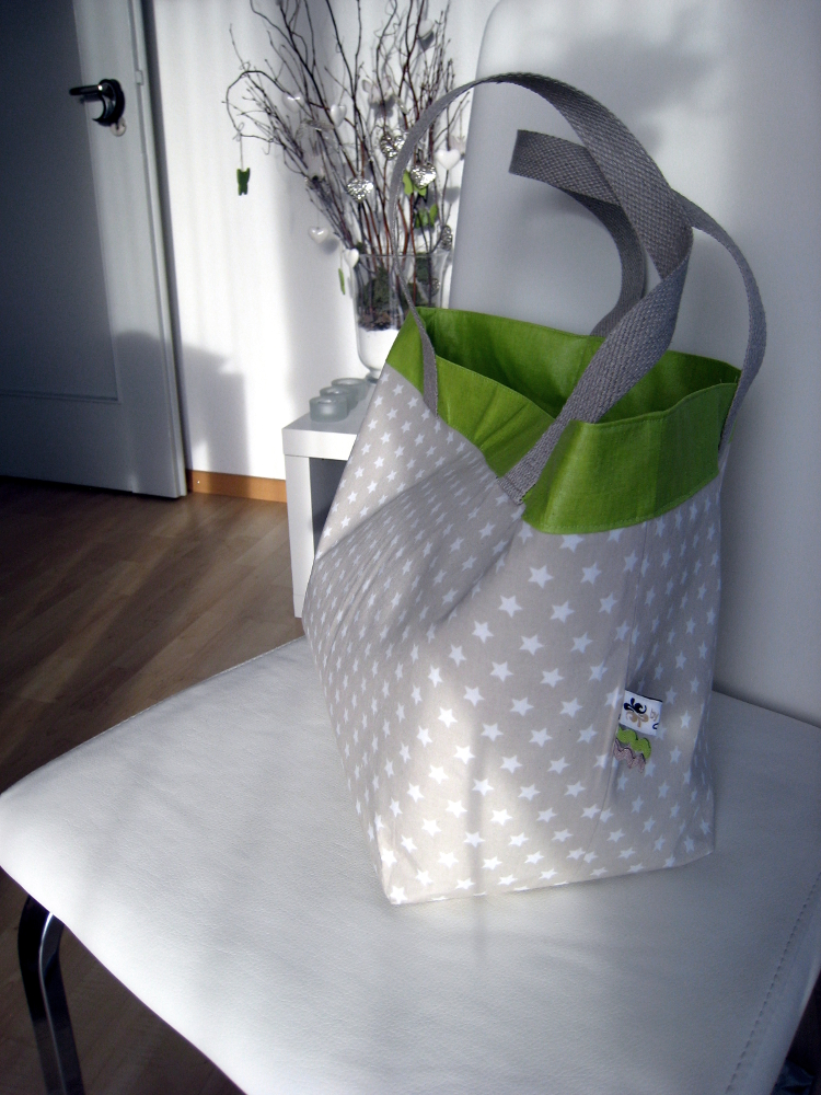 nähen • Lunchbag aussen aus Baumwolle