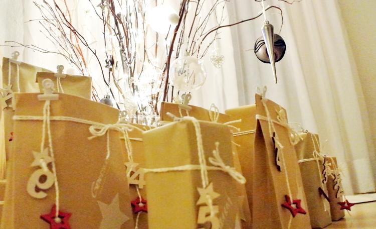 • diy • Adventskalender-Liebe • verpacken, verschenken • von 1 bis 24