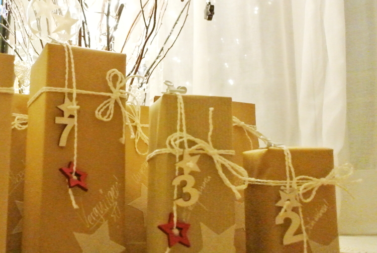 • diy • Adventskalender-Liebe • verpacken, verschenken