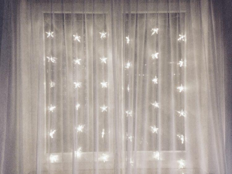 • mein Blog & ich & so • Weihnachtslichter und Eiskristalle • Lichterschein
