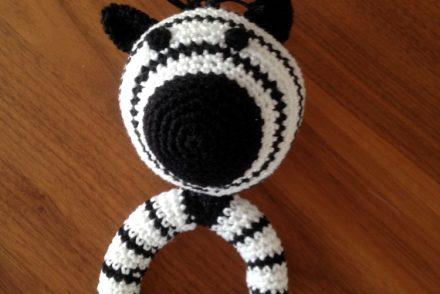 gehäkeltes Zebra