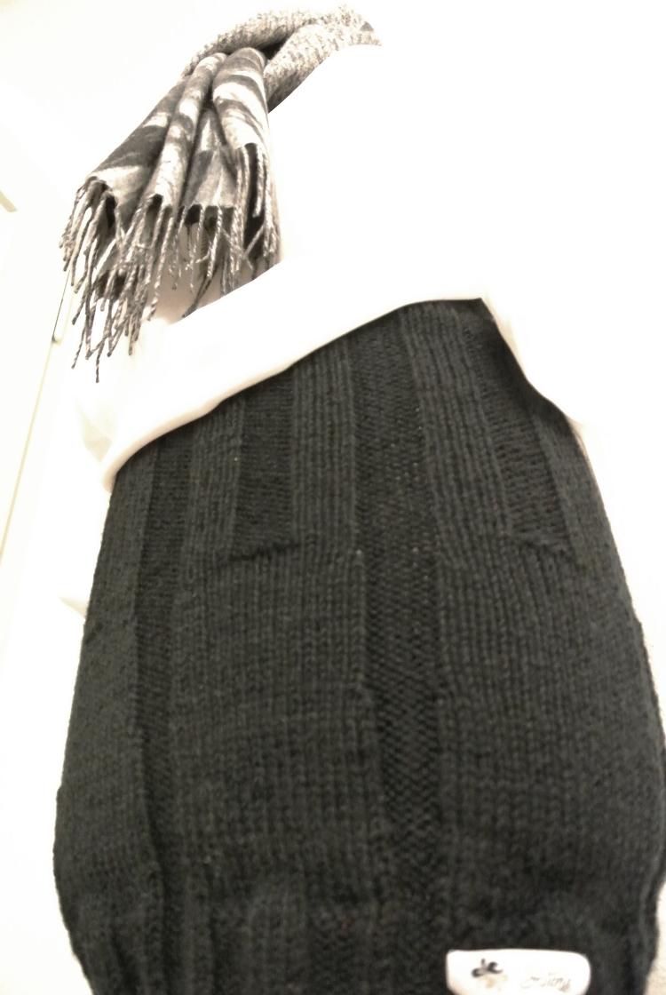 • stricken • Strickrock wintertauglich gestrickt