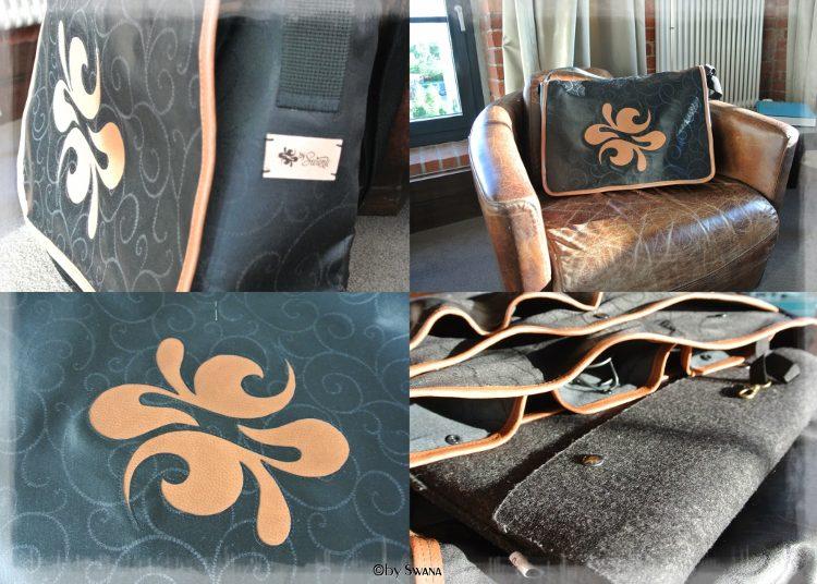 • nähen • Mein neuer Begleiter - Notebooktasche mit eigenem Logo