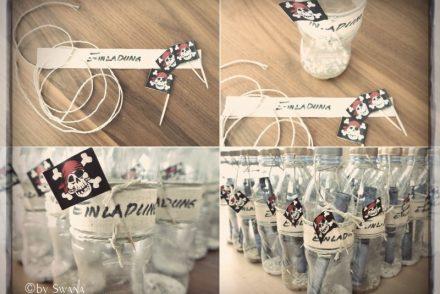 • DIY • Partyeinladungen für eine Piratenparty selber machen • so gehts