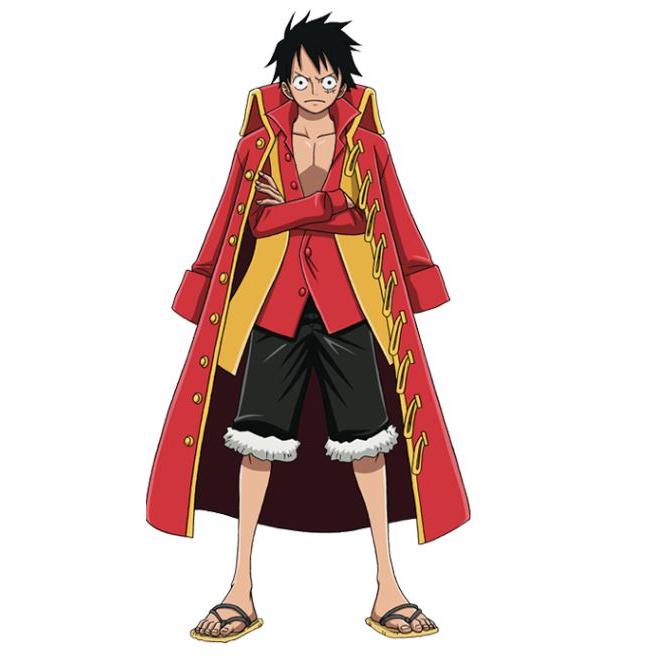• nähen • es war eine super Piratenparty • Luffy