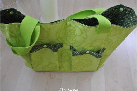 Tasche aus beschichteter Baumwolle