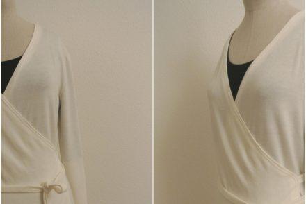 • nähen • 12 Letters of Handmade Fashion • W wie Wollweisse Wickeljacke