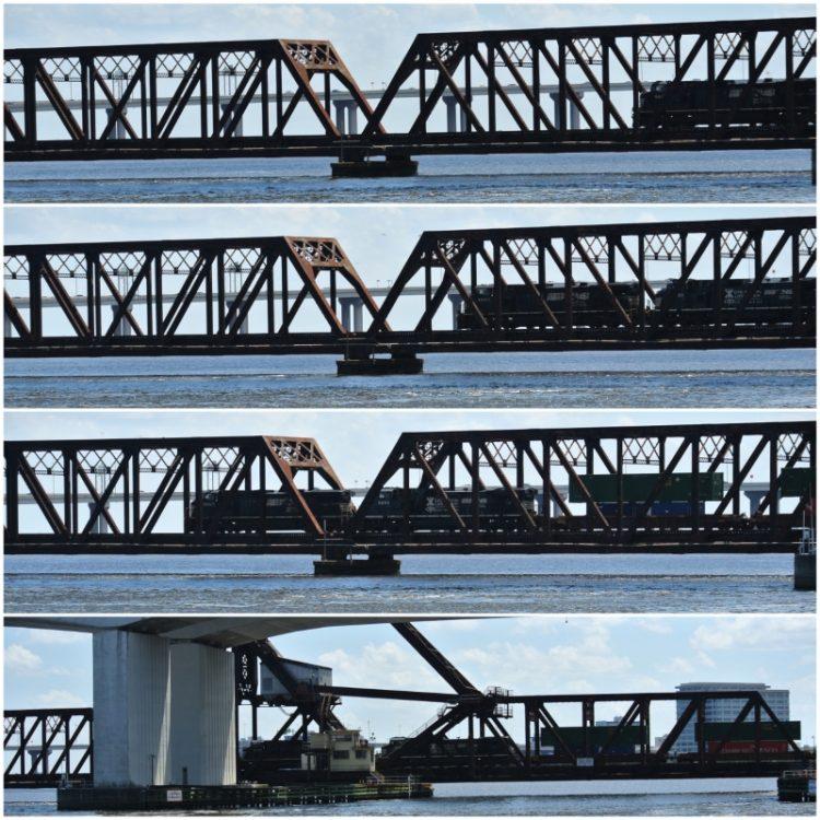 • on tour • einen Tag nichts tun in Jacksonville • Brücken, nichts als Brücken