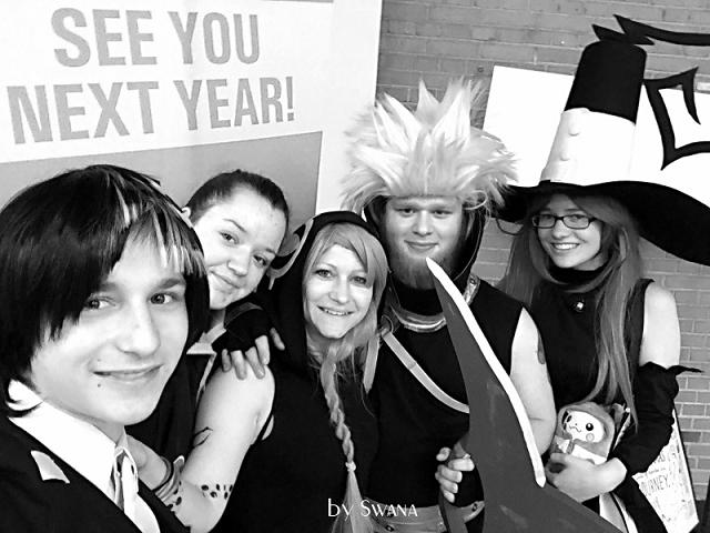 • nähen • Kostüme nähen für die Fantasy Basel 2017 - auf ein Wiedersehen!