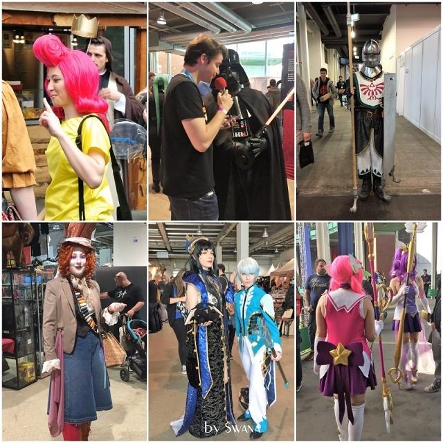 • nähen • Kostüme nähen für die Fantasy Basel 2017 - wie letztes Jahr, es gibt viel zu sehen