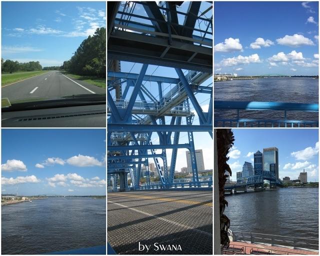• on tour • einen Tag nichts tun in Jacksonville • hab ichs schon erwähnt, hier gibts Brücken!