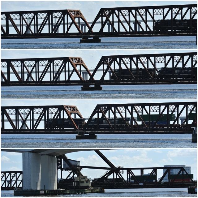 • on tour • einen Tag nichts tun in Jacksonville • noch mehr Brücken