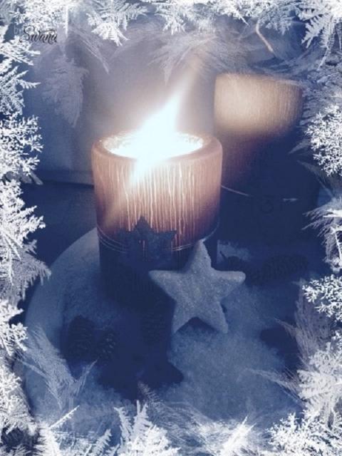 • mein Blog & ich & so • Weihnachtslichter und Eiskristalle • Adventsschimmer