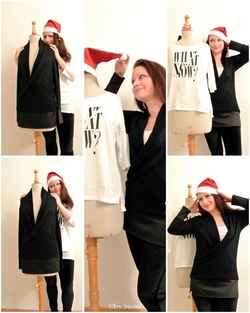 • nähen • Es ist soweit! Strickpullover • Lovely Nikolaus Sweater Sewalong • gefällt