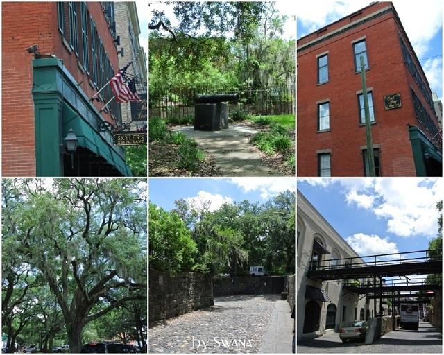 • on tour • Jacksonville nach Savannah • Städchen besichtigen