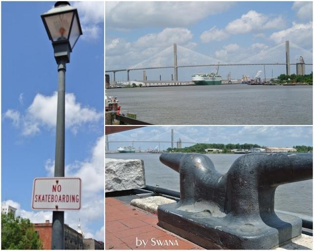 • on tour • Jacksonville nach Savannah • etwas grössere Schiffe