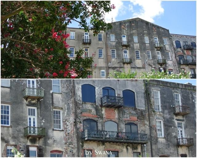 • on tour • Jacksonville nach Savannah • etwas ältere Häuser