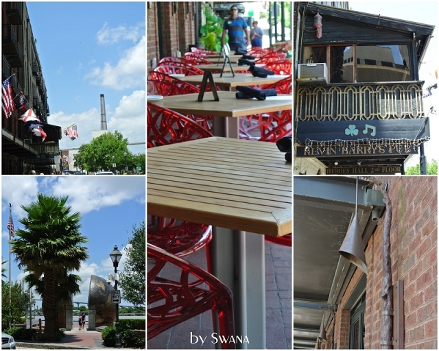 • on tour • Jacksonville nach Savannah • etwas ältere Lampe