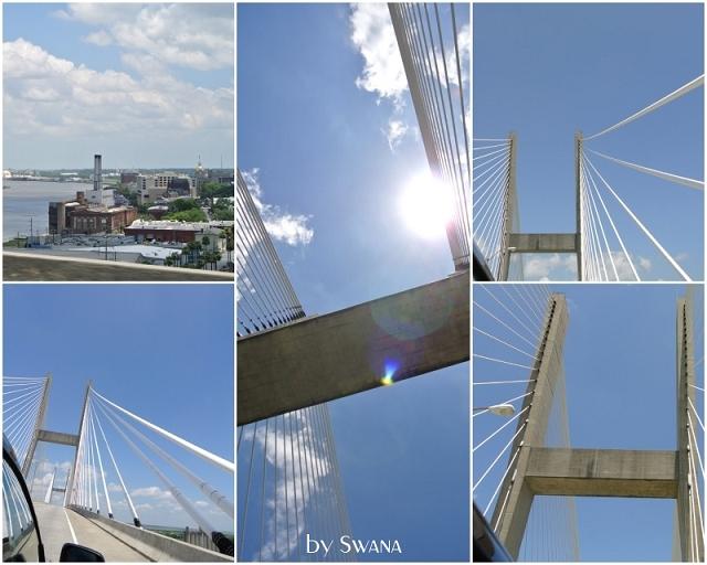 • on tour • Jacksonville nach Savannah • ah ja, eine Brücke...