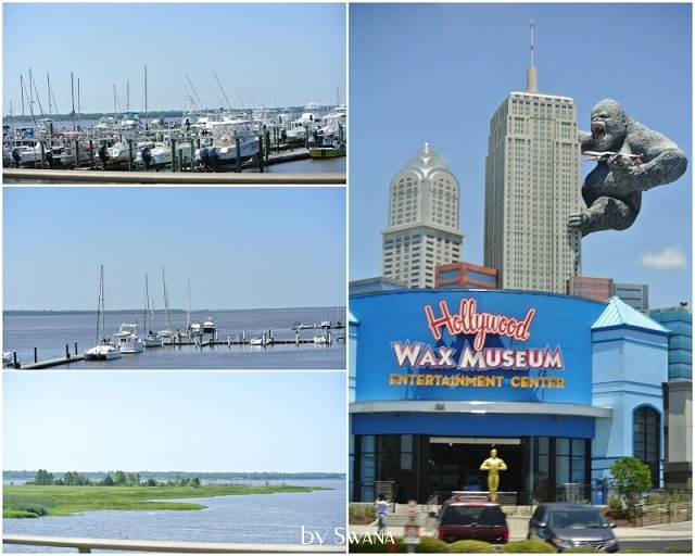 • on tour • Jacksonville nach Savannah • Wachsfigurenmuseum