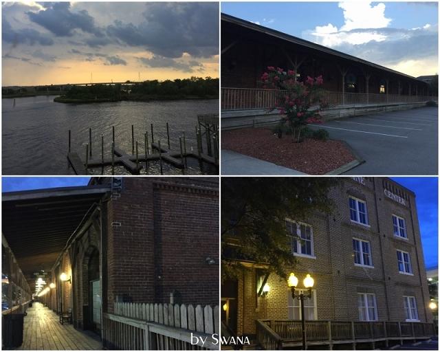 • on tour • Jacksonville nach Savannah • in der Abenddämmerung
