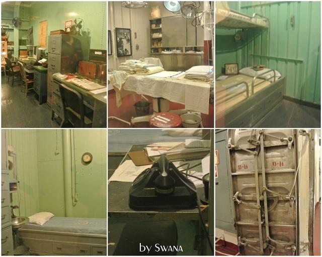 • on tour • Reise von Miami nach New York - Wilmington • Operationssaal