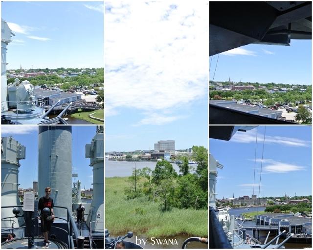 • on tour • Reise von Miami nach New York - Wilmington • Aussicht von oben