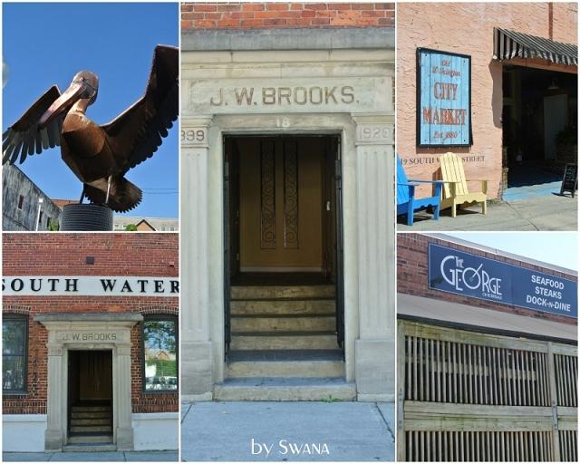 • on tour • Reise von Miami nach New York - Wilmington • JW Brooks Gebäude