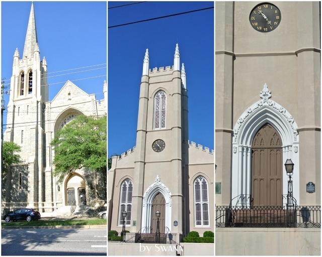 • on tour • Reise von Miami nach New York - Wilmington • Kirchen