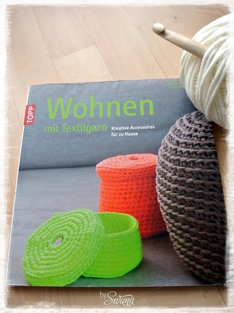 • häkeln • Häkelkissen • Wohnen mit Textilgarn