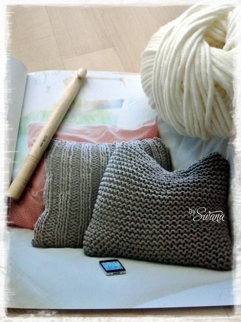 h keln h kelkissen selber machen aus merinowolle. Black Bedroom Furniture Sets. Home Design Ideas