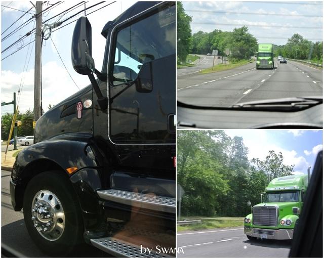 • on tour • der letzte Stopp vor New York • Newburgh • Trucks