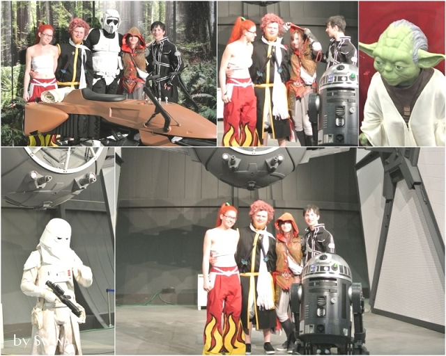 • nähen • Comicon • Fantasy Basel 2016 • Yoda und wir