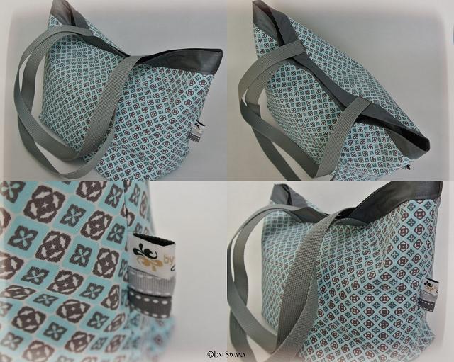 • nähen • Utensilos, Tischläufer, Untersetzer & Co. • Lunchbag innen mit beschichteter Baumwolle