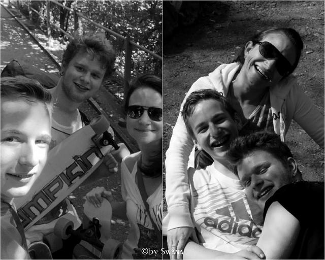 Wenn Kinder plötzlich gross sind • wir zusammen • die Zeit geniessen