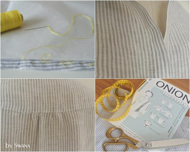 • nähen • O wie ONION's Snitmønster Overdele • Bluse aus Baumwolle nähen