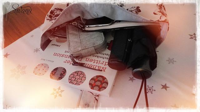 nähen • Weinachtsgeschenke • Taschenorganizer im Blumendesign