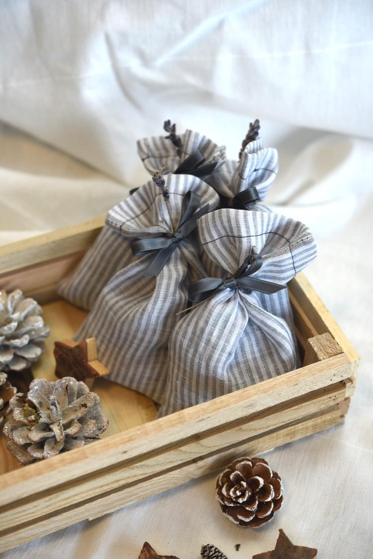 • nähen • Lavendelsäckchen Weihnachtsgeschenk schnell genäht