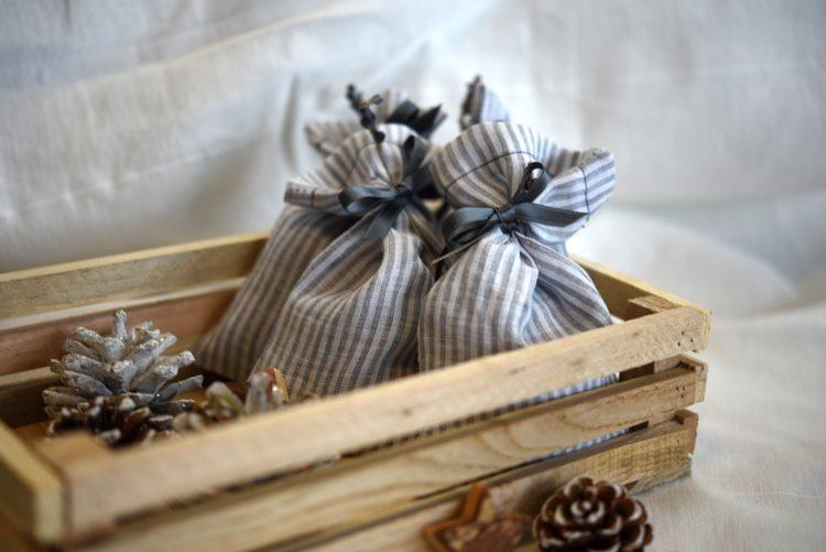 • nähen • Lavendelsäckchen Weihnachtsgeschenk schnell genäht • freude verschenken