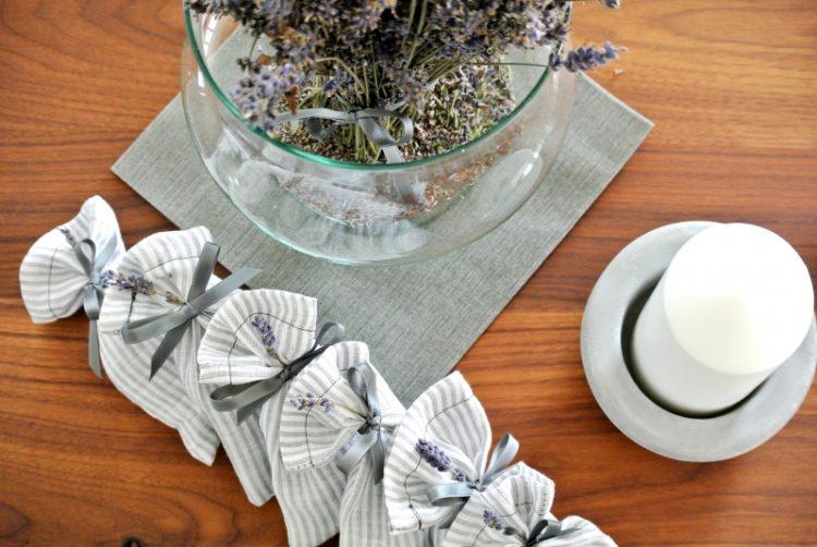 • nähen • Lavendelsäckchen Weihnachtsgeschenk schnell genäht • aus dem eigenen Garten