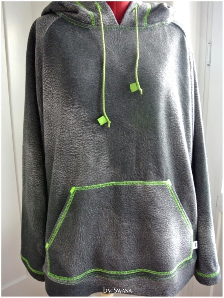 • nähen • Sweater für richtige Männer • schön gross