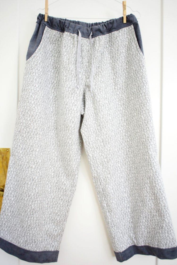 • nähen • eine Flanell-Relax-Pyjamahose
