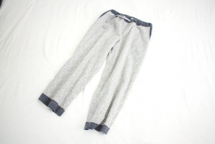 • nähen • eine Flanell-Relax-Pyjamahose • fertig und gleich rein schlüpfen