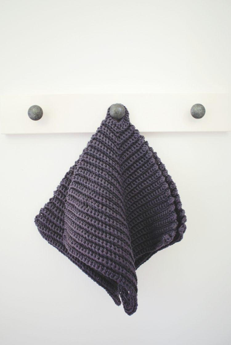• Wolle & Garn • Topflappen häkeln schnell gemacht • mit Rippenmuster