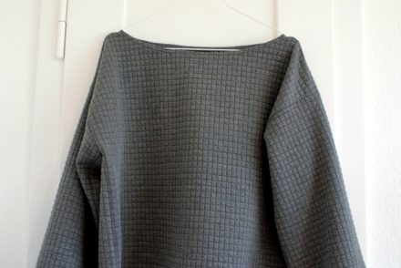 Jacquard Jersey Pullover