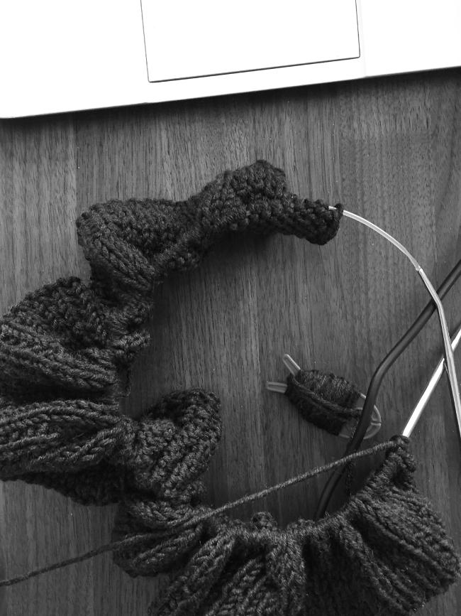 • stricken • Kuschel-Strickjacke im Streifendesign aus Merinowolle • aufgereiht