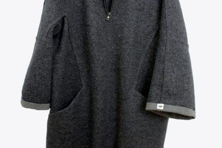 • nähen • Loden- oder Walkwollmantel mit Reissverschluss • grosszügig geschnitten