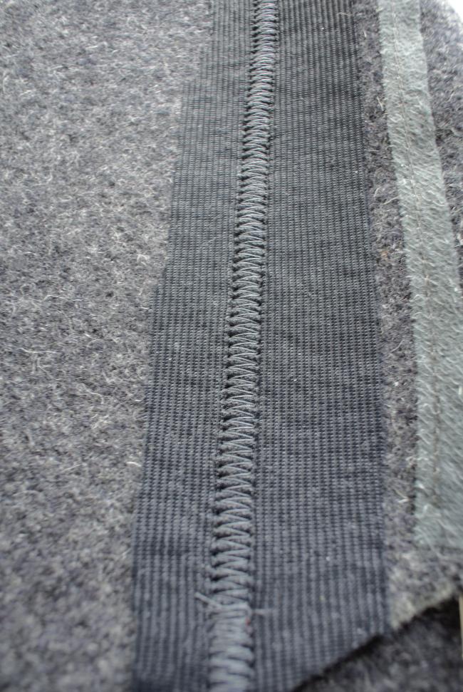 • nähen • Loden- oder Walkwollmantel • mit Jerseyeinlage fixiert