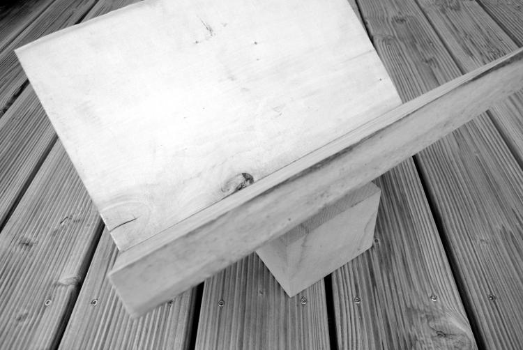 • diy • Zeitschriftensammler aus Holz • Naturholz vom Baumarkt